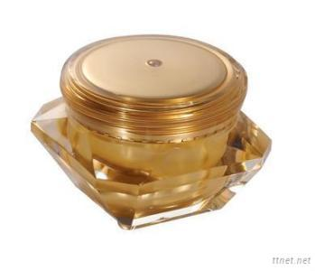 Diamond Cosmetic Acrylic Jar For Cosmetic Packaging