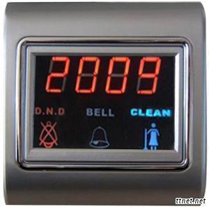 Touch Screen Switch & Door Signage (DSV-80W)