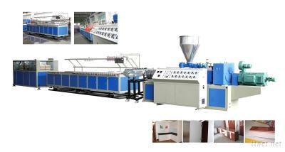 PVC Cabinet Board Extruding Production Line