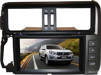 Toyota Landcrusier Prado 2012 Double Din Car Kit GPS