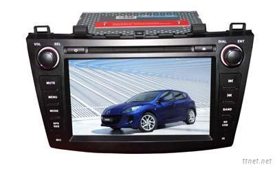 8 inch Double Din Car DVD GPS Player for Mazda 3