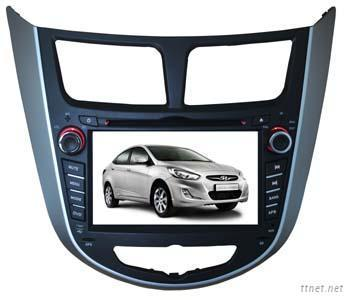 Hyundai Accent 2012 Car Dvd Gps