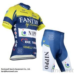 Professional Team Set, Cycling Wear, Cycling Clothing, Bicycle Clothing