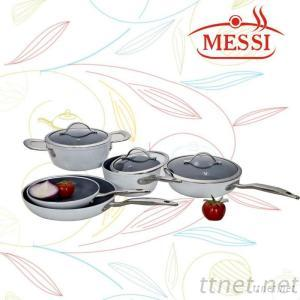 Forged Aluminum and Non-Stick Cookware Set