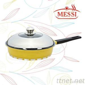 Die-Casting And Non-Stick Deep Fry Pan