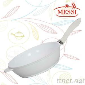MESSI High Quality Die-Casting Aluminum And Non-Stick Deep Fry Pan