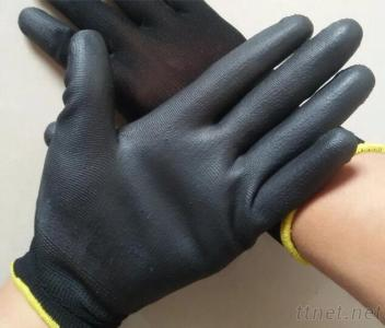13Gauge Nylon Gloves With PU Coated For Skillful Job
