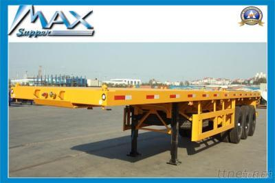 40Feet 3Axles Flatbed Container Semi-Trailer