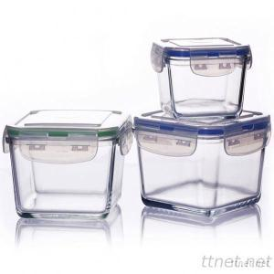 400ML Pyrex Glass Food Container With Airtight Lid