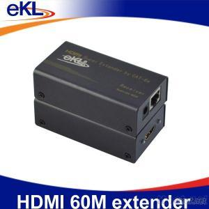 HDMI 60M Extender, 192Fts HDMI Extender, With Single Cat6 Cable