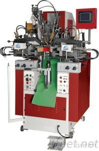 LB-780 Automatic Heel Seat And Sidel Lasting Machine (With Hot Melt)