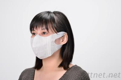 3d disposable mask