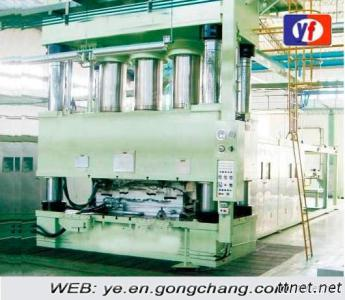 Hydraulic Press For Glass Febil Reinforces Plastic Product