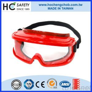 Safety Goggle With Integral Browguard