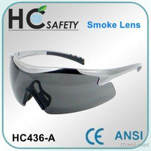 Wrap Around Style Safety Spectacle CE And ANSI