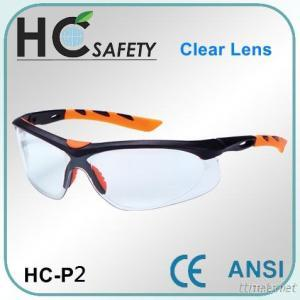 Brow Bar Style CE & ANSI Safety Spectacles