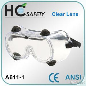 Safety Goggle With 4 Indirect Vents