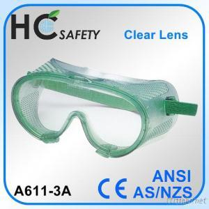 Safety Goggle With Direct Vents
