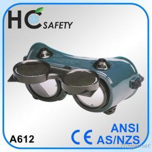 Welding Goggle with Flexible Vinyl Frame
