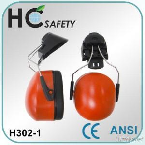 CE Forestry Operation ABS Cap Mounted Earmuffs