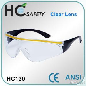 Safety Spectacle with enhanced side protection