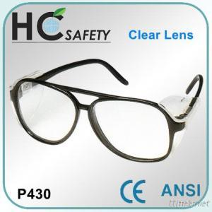 Full Frame & Lateral Protection CE Safety Spectacles