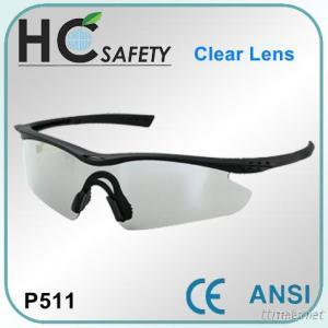Light weight Brow Bar style ANSI Safety Spectacle