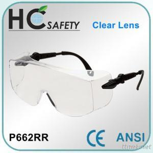 Over Safety Spectacles CE and ANSI approved
