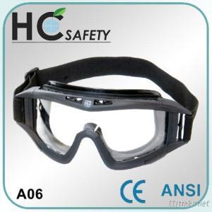 CE And ANSI Approved Safety Goggle