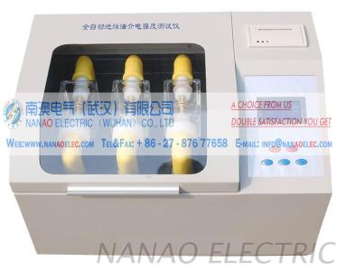 NAIJJ Automatic Insulating Oil Dielectric Strength Tester(three cup)