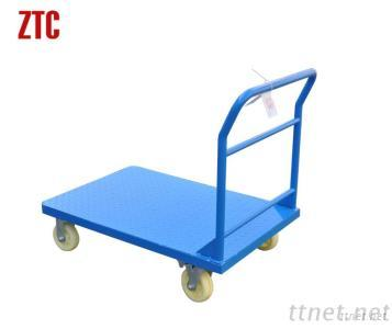 Cheap Steel Flatbed Trolley Cart, Heavy Duty Platform Cart RCA-015