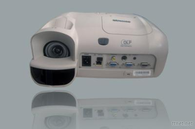 Short-Focal-Length Optical Mutual Projector