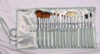 16 pcs cosmetic brush set
