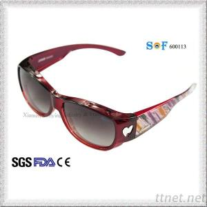 Women Sports Fit Over Sunglasses