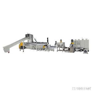 (3 in 1 Type) Plastic Waste Recycling Machine