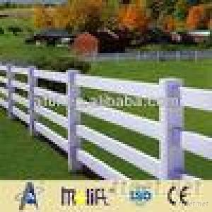 PVC White Picket Portable Horse Fence Panels