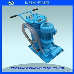 100 L/Min Oil Filter Machine