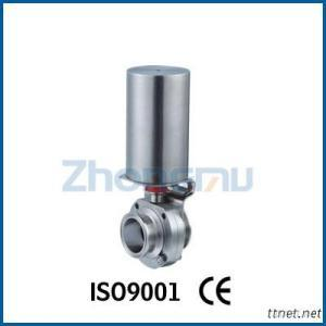 Pneumatic Butterfly Valve with No Sensor