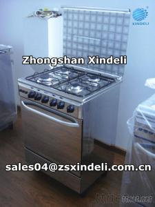 Gas Cooking Range Stainless Steel