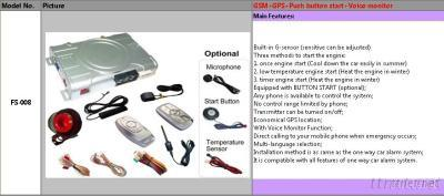 GSM/GPS Tracker With Push Start Button