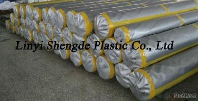 Silver Poly Tarps In Roll