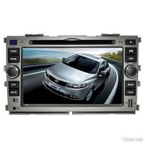 7 Inch Car DVD Player With GPS Navigation / Bluetooth / Raido