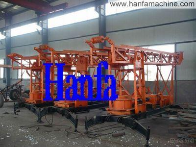 180M Drilling Depth Trailer Type HF180 Water Well Drilling Rig