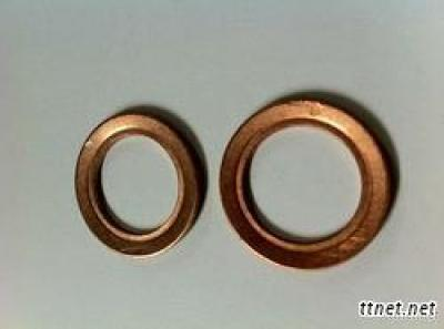 Red Copper Sealing Ring