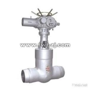 Pressure Self-Sealing Bonnet Electric Cast Steel Gate Valve