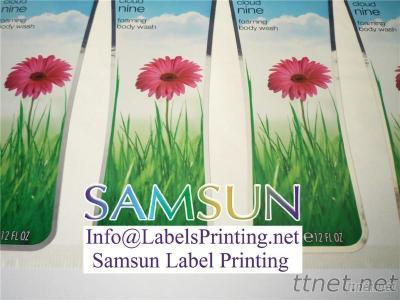 Cosmetic Labels, Samsun Label Printing
