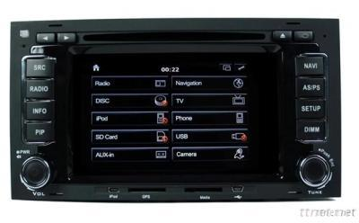 Dvd Player For Car For Volkswagen Touareg 1999-2010
