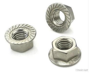 XDM Stainless Steel Flange Nuts