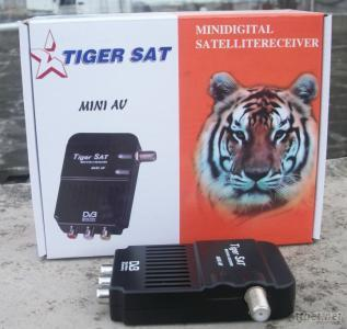 2011 Hot Sale Strong Mini AV FTA Satellite Receiver with Biss for Middle East, Turkey, Russia