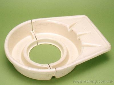 Pottery Clay Plate Vacuum Forming